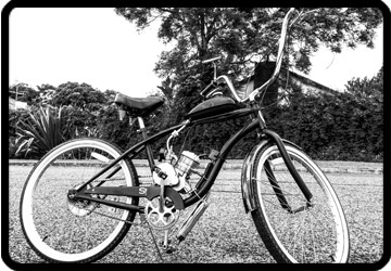 motorized Schwinn Beach Cruiser
