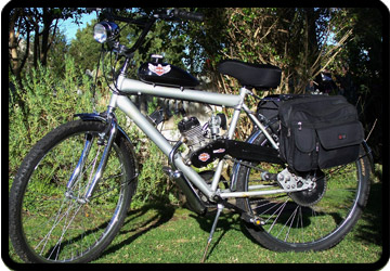 motorized bike ecotrax