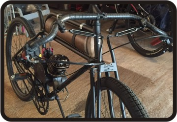 ecotrax motor bicycle build
