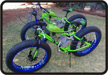 ecotrax custom fat bike