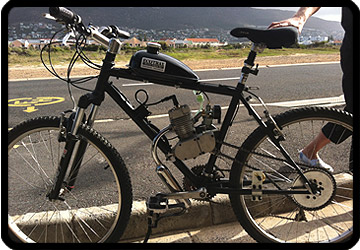 motorised bike cape town