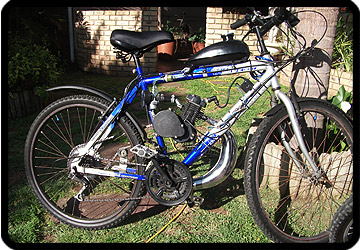 motorised bicycle Port Elizabeth