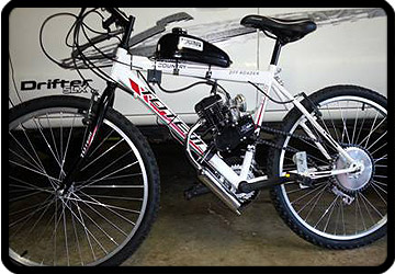 ecotrax motorised bike