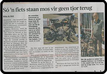the burger afrikaans newspaper