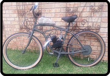 motorised bicycle kempton park