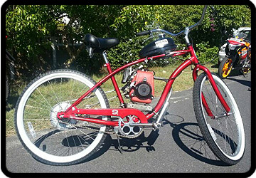 4 stroke bicycle motorised cape town