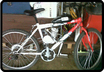 bicycle engine kit south coast kzn