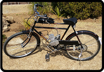 motorised bicycle free state south africa